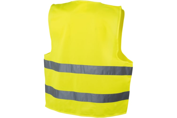Bullet Professional Safety Vest (Yellow) (65 x 65 cm)