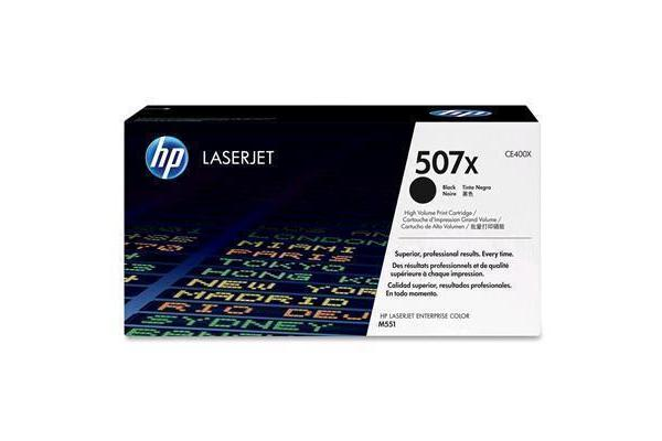 HP Toner 507X CE400X Black (11000 pages)