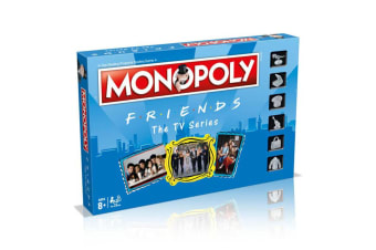 Monopoly Friends TV Series Board Game 8y+ Family/Kids/Adult Play Cards/Money/Toy