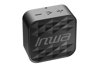 Select Mall Creative Waterproof Bluetooth 5.0 Portable Mini Speaker Can Insert Card Square Drill Sports Speaker Player