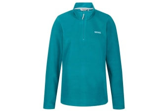 Regatta Great Outdoors Womens/Ladies Sweetheart 1/4 Zip Fleece Top (Shoreline Blue) (16)