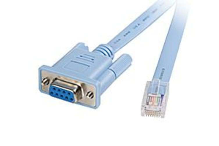 Cisco RJ45-DB9 networking cable 1.8 m Grey