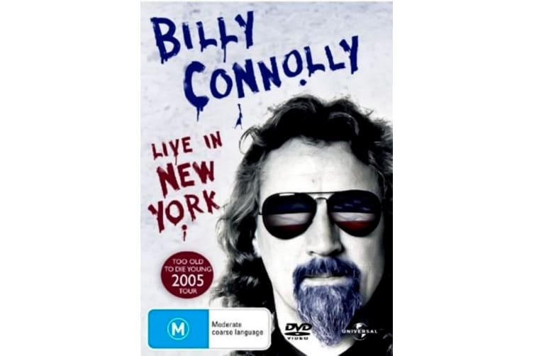 Billy Connolly Live In New York - Rare- Aus Stock DVD PREOWNED: DISC LIKE NEW
