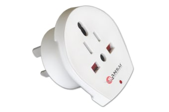 Sansai Universal Travel Adapter - Worldwide to AUS/NZ (STV-018)