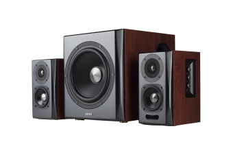 Edifier S350DB 2.1 Bluetooth Optical Multimedia Speakers with Subwoofer, 3.5mm AUX & Bluetooth Remote Control (SPE-S350DB)