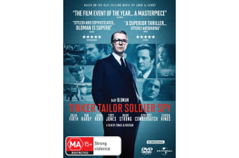 Tinker Tailor Soldier Spy DVD Region 4