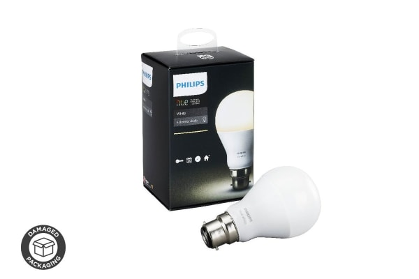 Philips Hue White Light Bulb 9.5W A60 B22 - (Damaged Packaging)