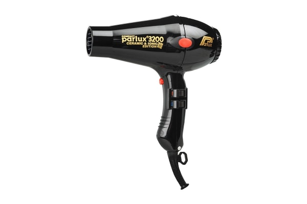 Parlux 3200 Ceramic & Ionic 1900W Hair Dryer - Black (150040)