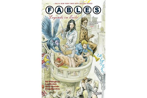 Fables Vol. 1 Legends In Exile