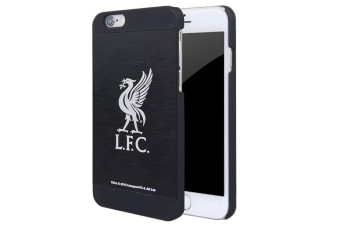 Liverpool FC iPhone 6/6S Aluminium Case (Black) (One Size)