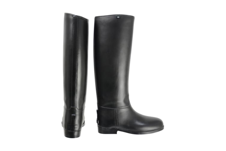 HyLAND Adults Long Greenland Waterproof Riding Boots (Black) (6.5 UK Standard)