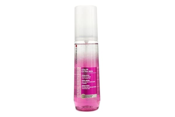 Goldwell Dual Senses Color Extra Rich Serum Spray - For Thick to Coarse Color-Treated Hair (Salon Product) (150ml/5oz)