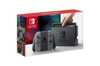 Nintendo Switch Grey The incredibly versatile gaming console you can take anywhere