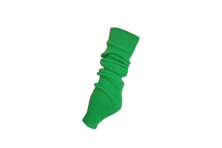 Silky Womens/Ladies Winter Thermal Leg Warmers (1 Pair) (Fluorescent Green) (One Size)