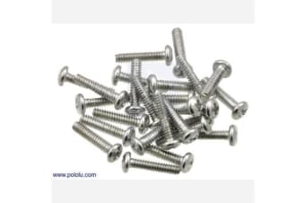 "Machine Screw: #4-40, 1/2"" Length, Phillips (25-pack)"