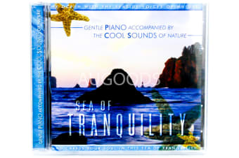 Gentle Piano Accompanied by The Cool Sounds of Nature MUSIC CD NEW SEALED