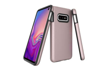 For Samsung Galaxy S10e Case  Armour Rose Gold Protective Durable Phone Cover