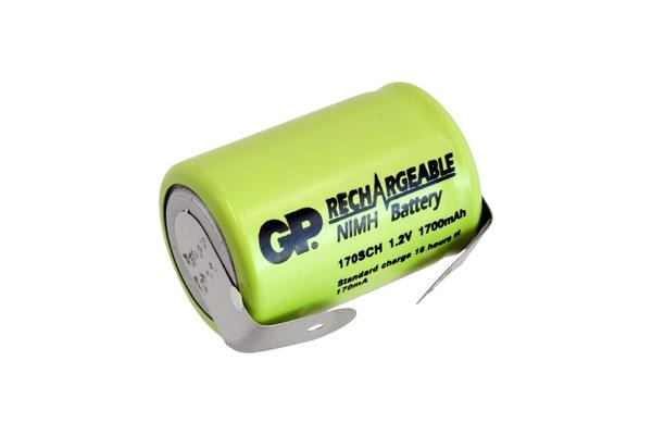 Gp 2000Mah Nimh 4/5 Sub C With