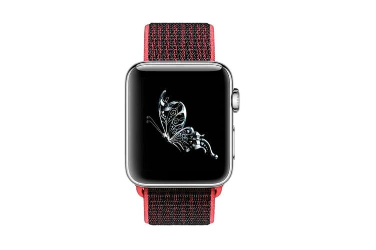 Soft Nylon Sport Loop Watch Band for Apple Watch Iwatch Series 5 4 3 2 1 - 38MM 40MM