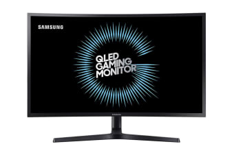"Samsung 32"" 16:9 2560x1440 HDR 2K 144Hz QLED Curved Gaming Monitor (LC32HG70QQEXXY)"