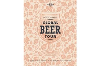 Lonely Planet's Global Beer Tour with Limited Edition Cover
