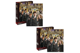 2x Aquarius Harry Potter Collage 1000pc Jigsaw Puzzle Teen/Kids 14y+ Toys