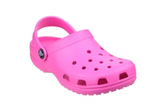 Crocs Childrens/Kids Classic Clogs (Fuchsia) (1 UK)