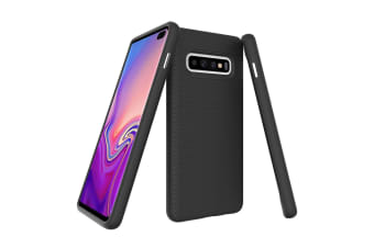 For Samsung Galaxy S10+ Plus Case  Armour Black Protective Durable Phone Cover