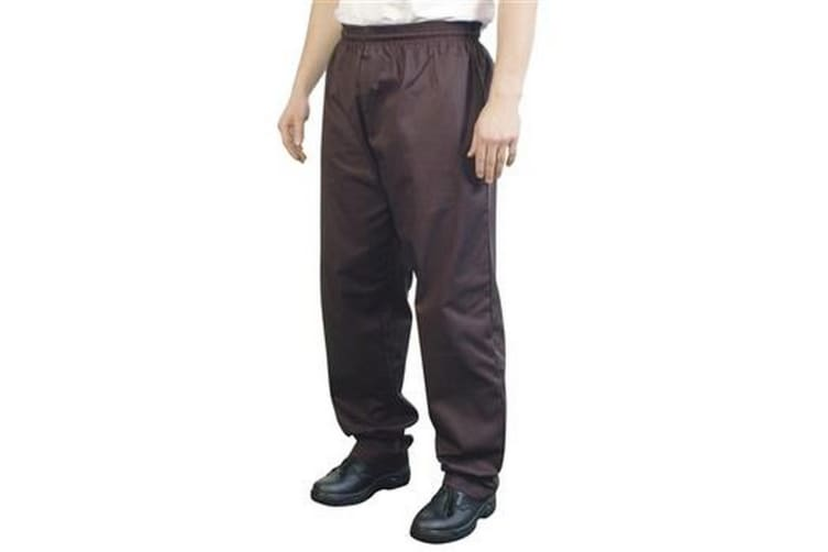 BonChef Baggy Mens Chef Trousers (Black) (S)