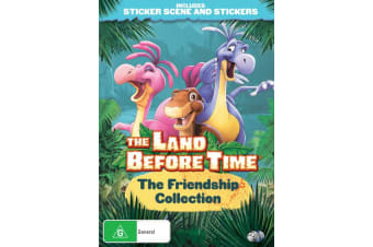 The Land Before Time The Friendship Collection DVD Region 4