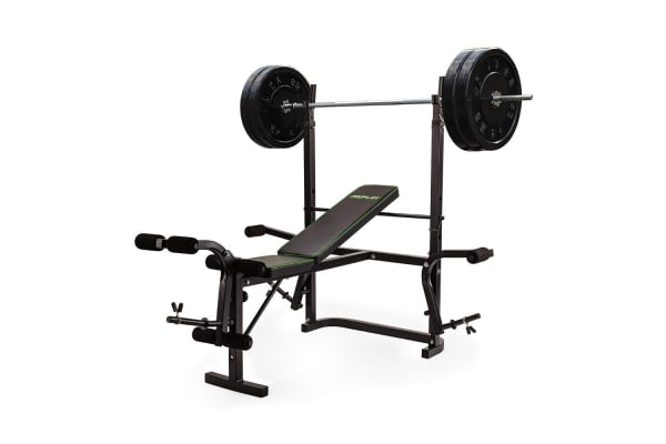 Proflex 7in1 Weight Bench Press Multi-Station Home Gym Leg Curl Equipment Set