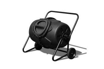 Compost Bin Tumbler with Built-In Mixing Fins 190L