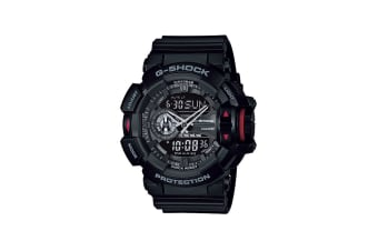 Casio G-Shock Ana-Digital Watch - Black/Red (GA400-1B)