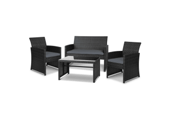 Garden Furniture Outdoor Lounge Setting Wicker Sofa Set Patio Bistro