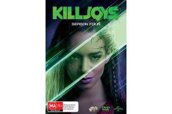 Killjoys Season 4 DVD Region 4