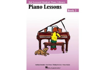 Hal Leonard Student Piano Library: Book 2 - Piano Lessons