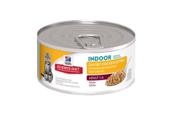 Hills Science Diet Adult Indoor Cat Cans - 1 Can