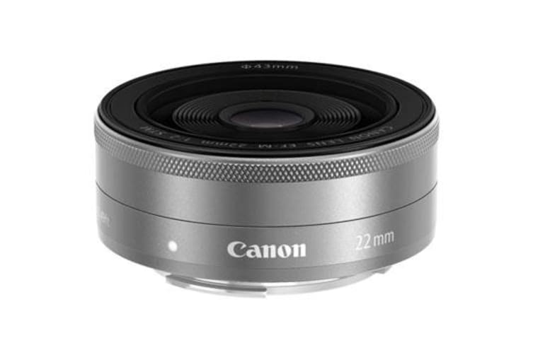 New Canon EF-M 22mm f/2.0 STM Silver Lens (FREE DELIVERY + 1 YEAR AU WARRANTY)
