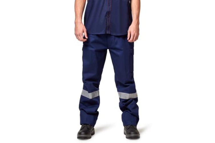 Hard Yakka Generation Y Cargo Pant with Reflective Tape, Size 122S)