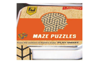 Official Rubik`s Mindbending Tabletop Puzzles In A Tin - Maze