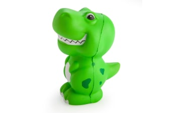 Smoosho's Bouncy Relaxable Squeeze Ball Toys Green T-Rex Stress Relief