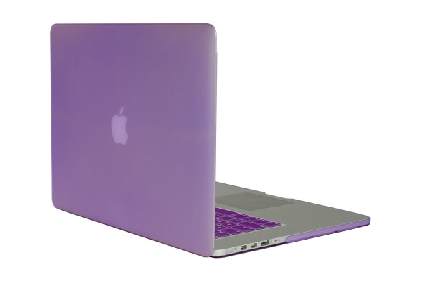 """Frosted Hard Cover for MacBook Pro 15"""" with Retina (Amethyst)"""