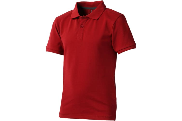 Elevate Childrens/Kids Calgary Short Sleeve Polo (Red) (H104cm)