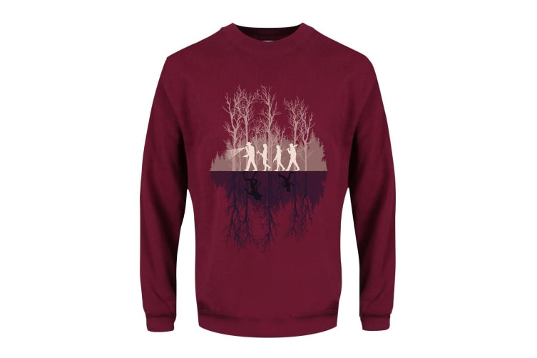 Grindstore Mens Where There's A Will Sweater (Burgundy) (S)