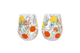 Sunnylife Stemless Cocktail Glasses Dolce Vita Set of 2
