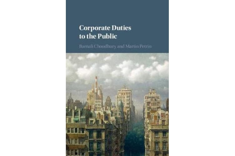 Corporate Duties to the Public