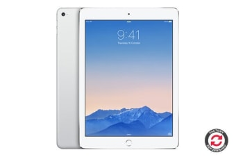 Apple iPad Air 2 Refurbished (64GB, Cellular, Silver) - A Grade