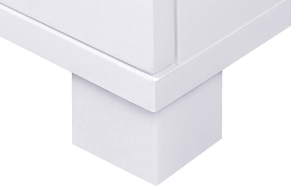 High Gloss Sideboard Storage Cabinet (White)