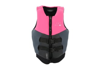 JetPilot Cause Segmented Front Entry Level 50S Neo Vest - Pink - 6