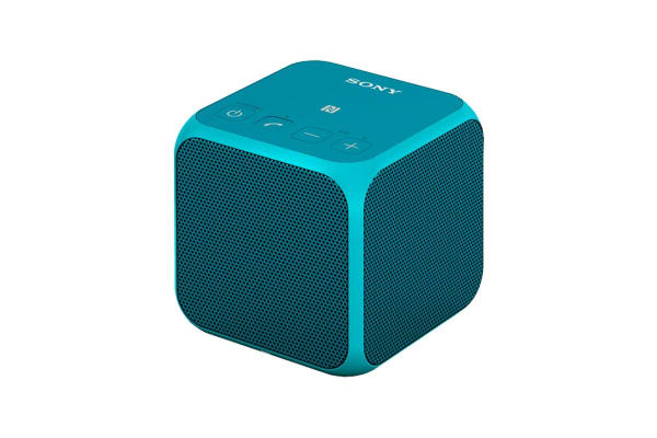Sony Wireless Bluetooth Speaker Cube - Blue (SRSX11L)